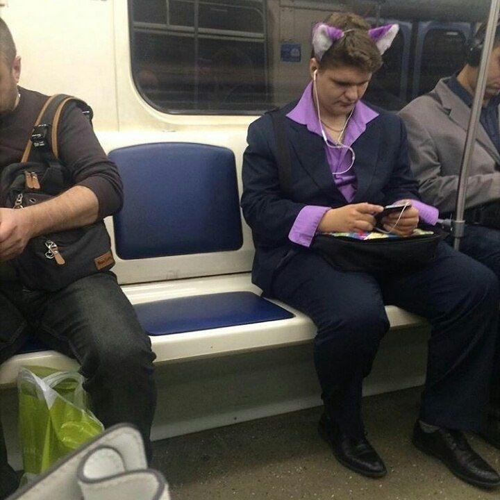 упорство чудные люди в метро фото приняли самый