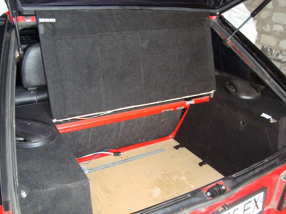 Как сделать багажник на ваз 2109 от кнопки 869