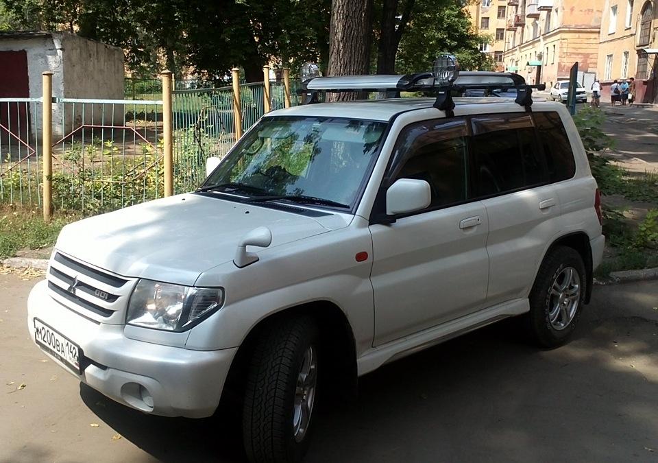 Багажник на паджеро ио