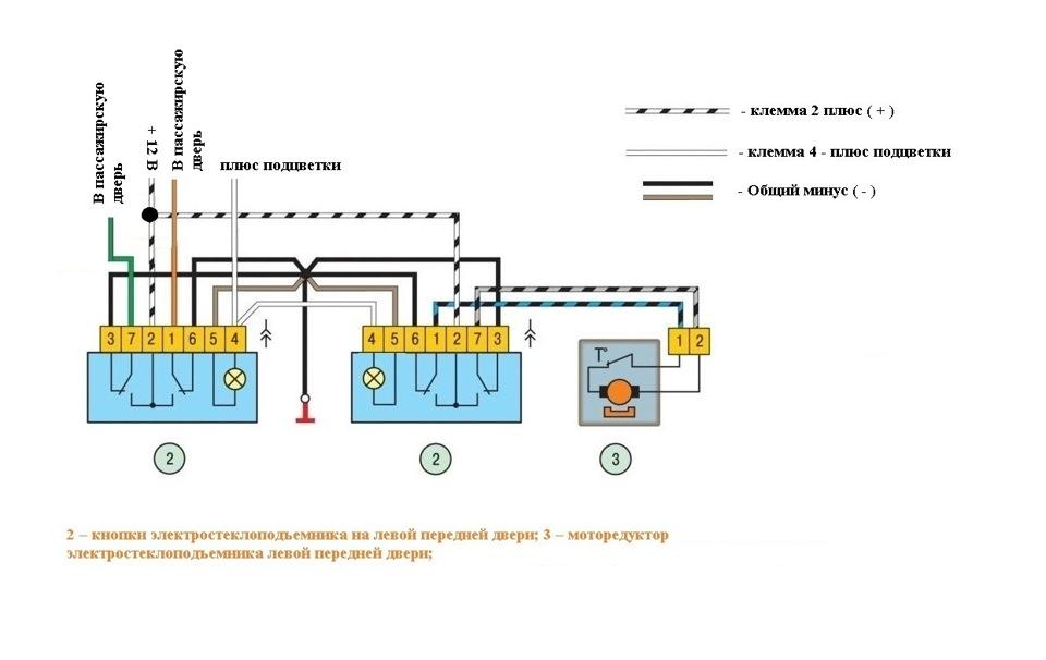 Схема соединений в