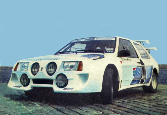Гоночный автомобиль Lada EVA на базе ВАЗ-2108 легко обошел западных конкурентов