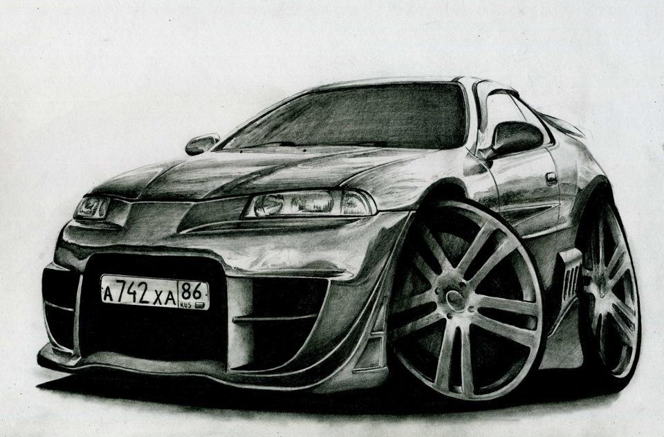 Автомобили рисунки прикольные, смешного памятника