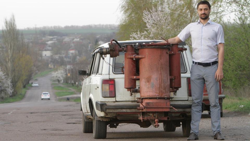 Переделываю авто на дрова