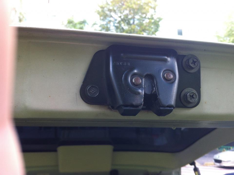 Ремонт багажника pajero sport Замена вакуумного усилителя тормозов рено сценик