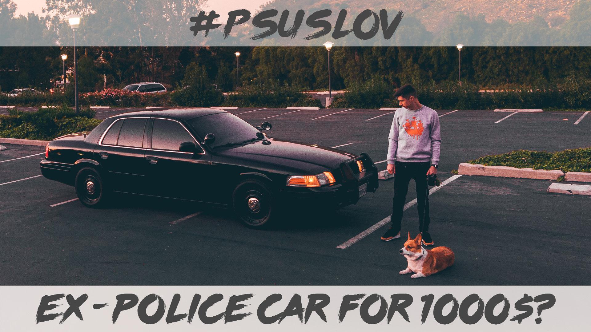 О том, как купить полицейский автомобиль в США — бортжурнал ford