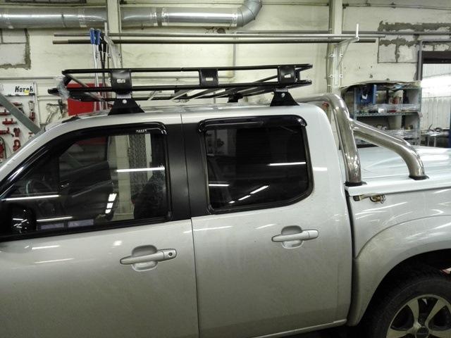 багажник риф на mazda bt50
