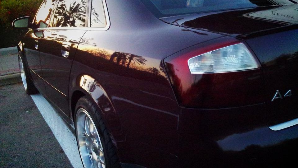 Audi A4 Avj 18t тёмная лошадка Drive2
