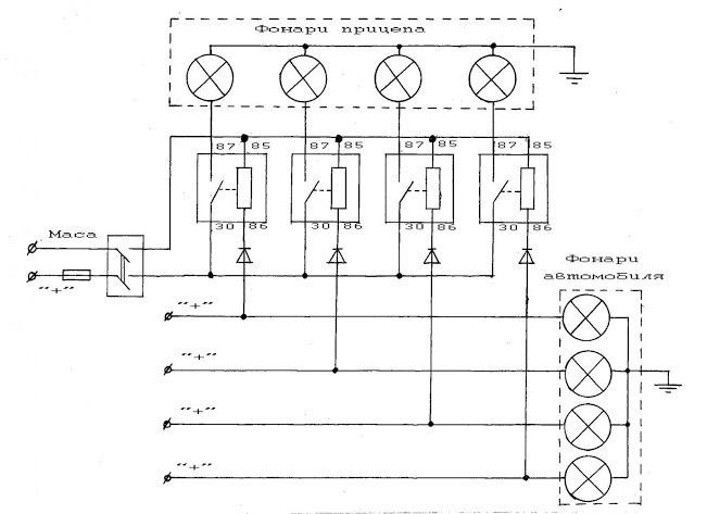Подключение фаркопа к электронике машины своими руками Сам 89