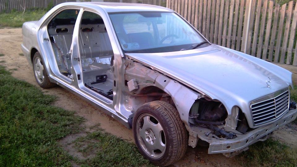 Хром Пакет На W210