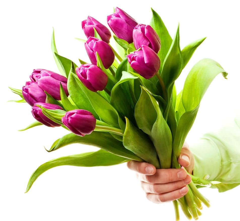 Красивые, картинки к 8 марта с тюльпанами