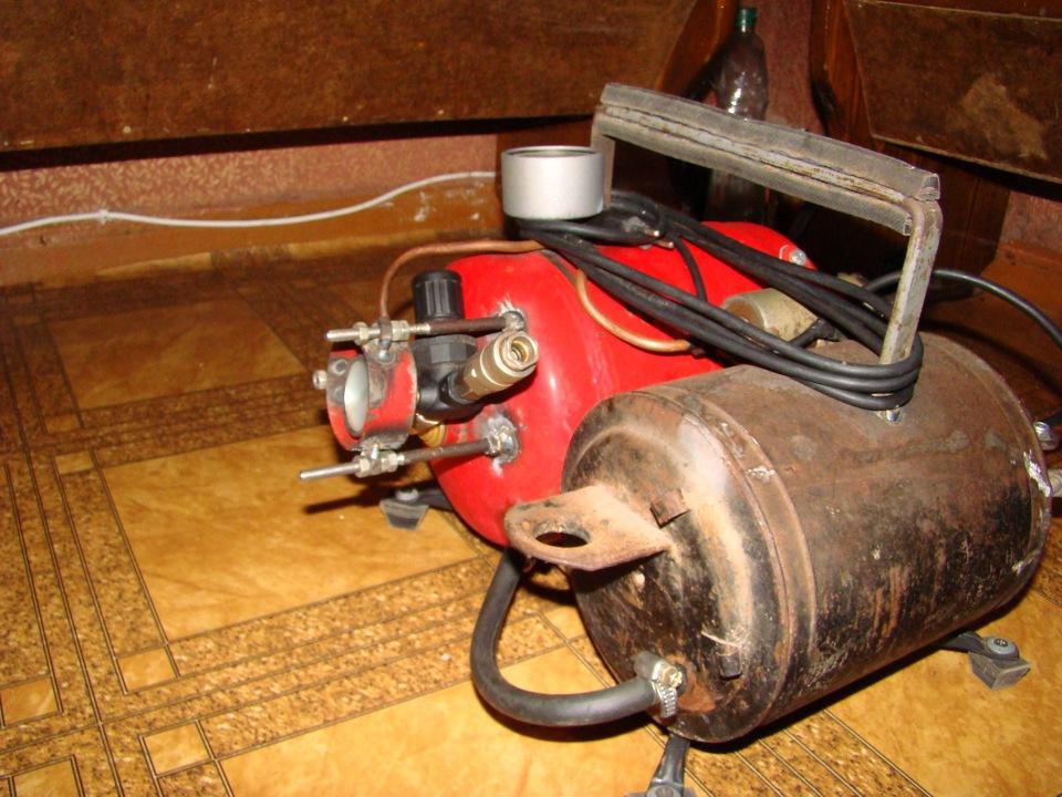 Как сделать газовый компрессор своими руками 392