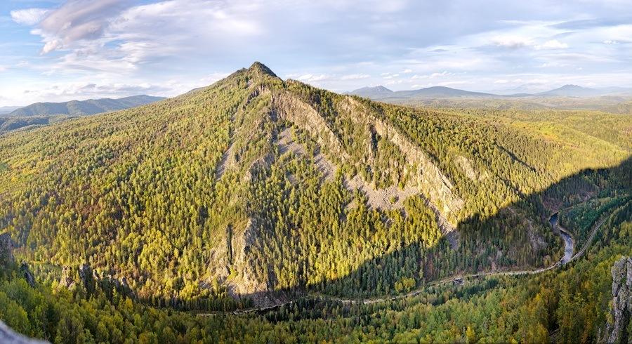 хребты уральских гор в башкирии фото центра