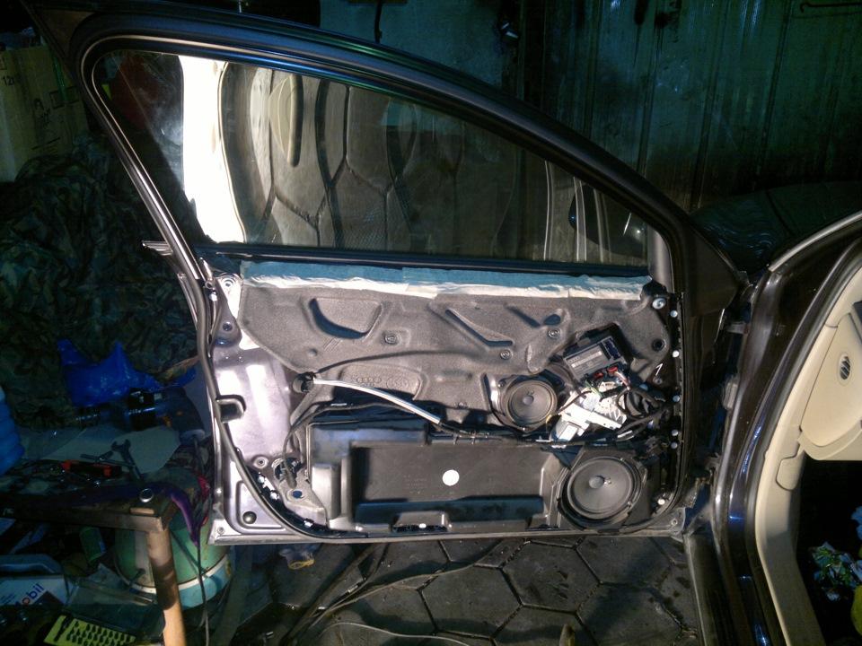 какая акустика устанавливается в передние двери на audi a6 b5 1998г.