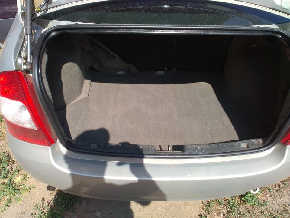 багажник калины седан фото