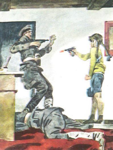 Картинки по запросу Зина Портнова стреляет в немецкого офицера