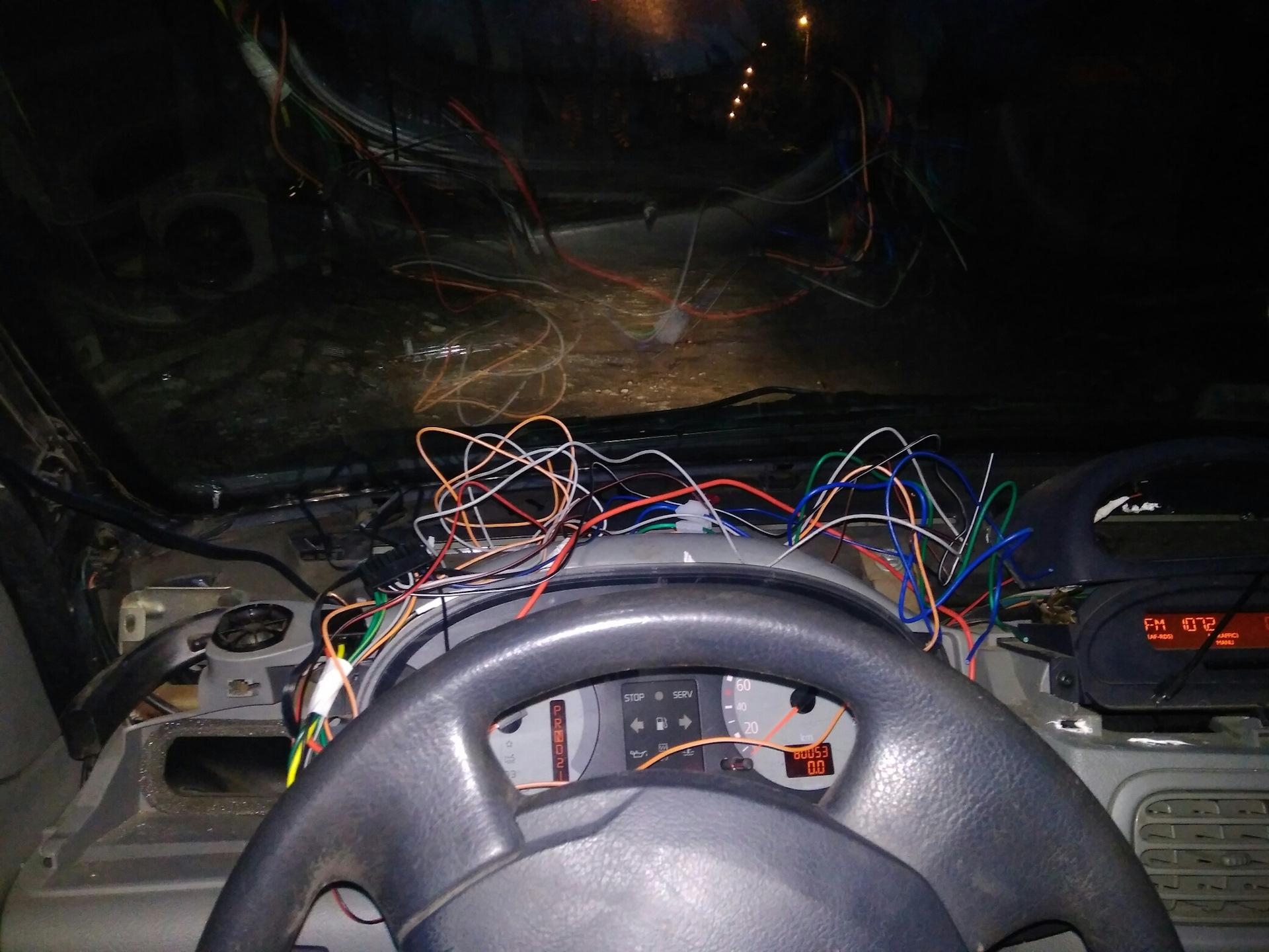 Установка автосигнализации с автозапуском своими руками фото 144