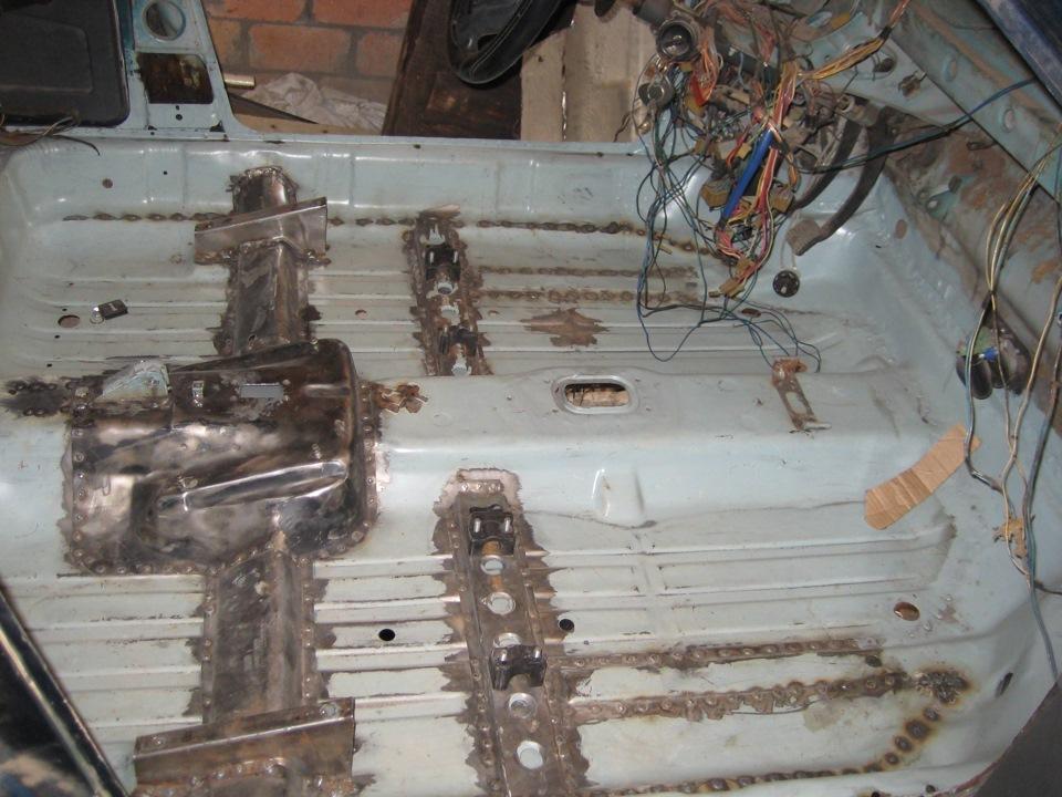 ремонт кулисы на ваз 21099 #10