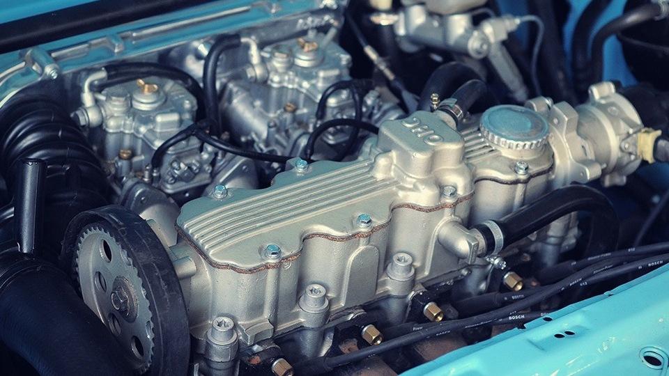 Opel Kadett D Stanced-Blue