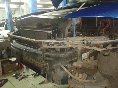 ...краях припекать летом и я решил пойти по накатанной схеме многих 2,0ТFSI ваговодов, установить интеркулер Audi S3.