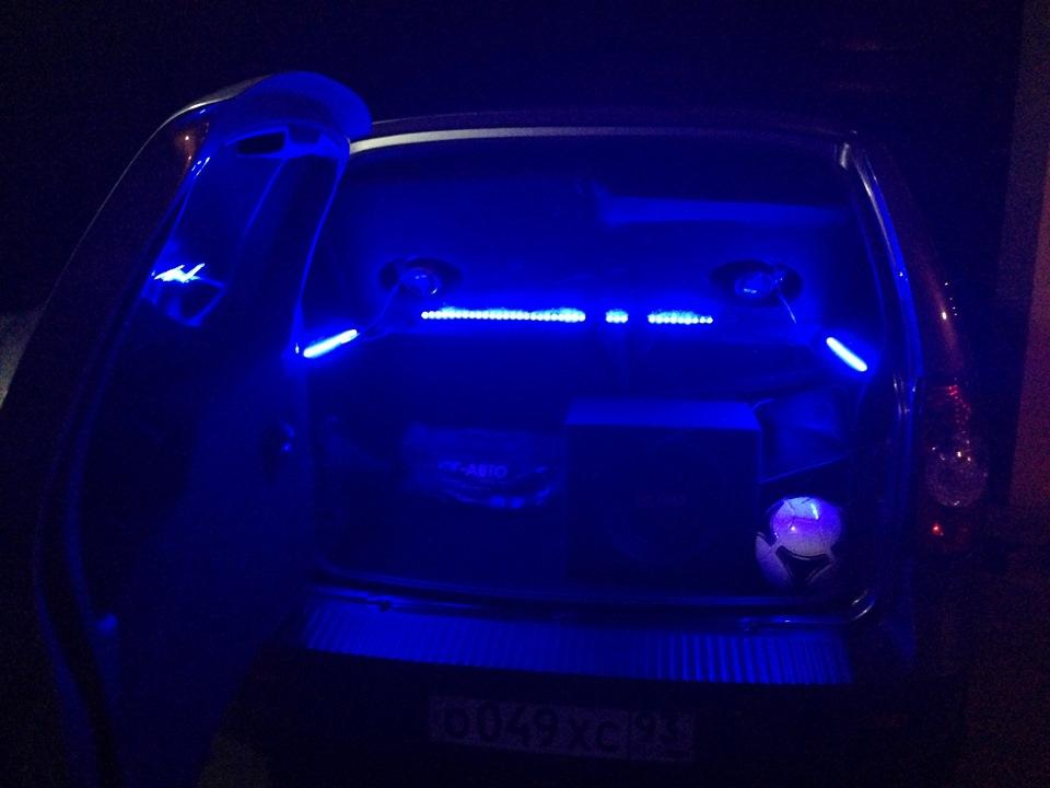 подсветка салона chevrolet niva