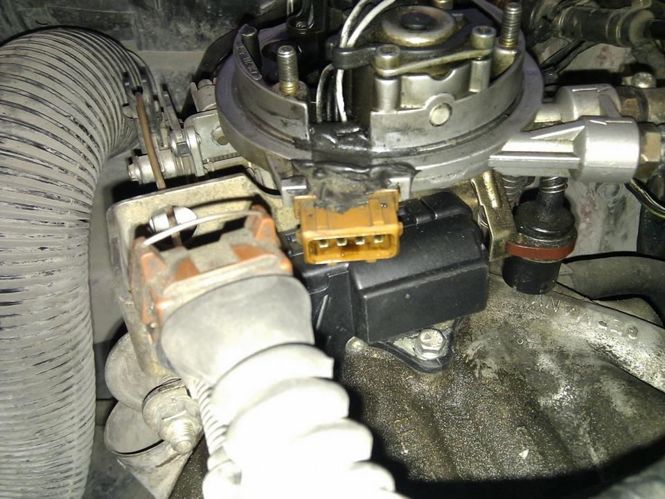 audi80 1.8pm моно-впрыск маркировка температурного датчика фото