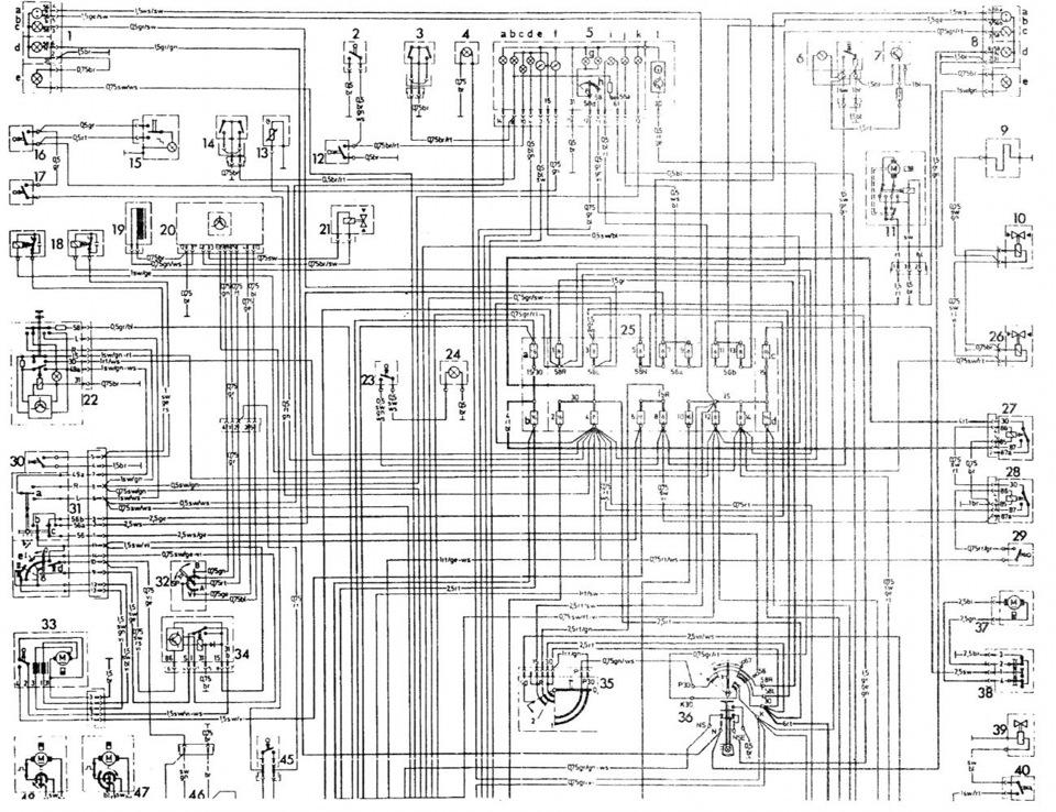 схема подключения реле поворотов 123 мерседес