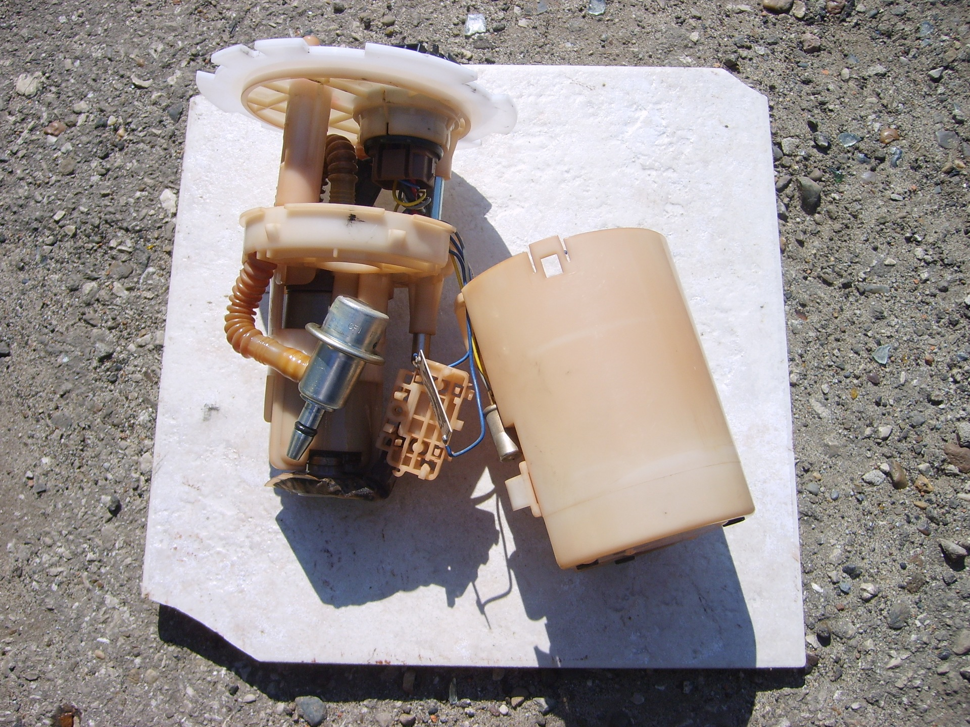 chevrolet lacetti замена топливного фильтра грубой очистки