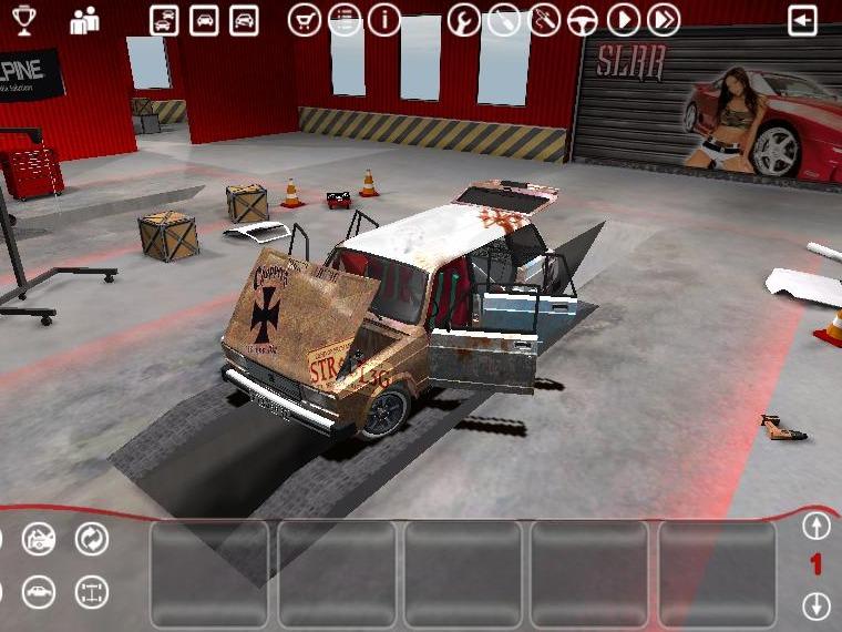 игры собирать машины вид ламината, имитирующий