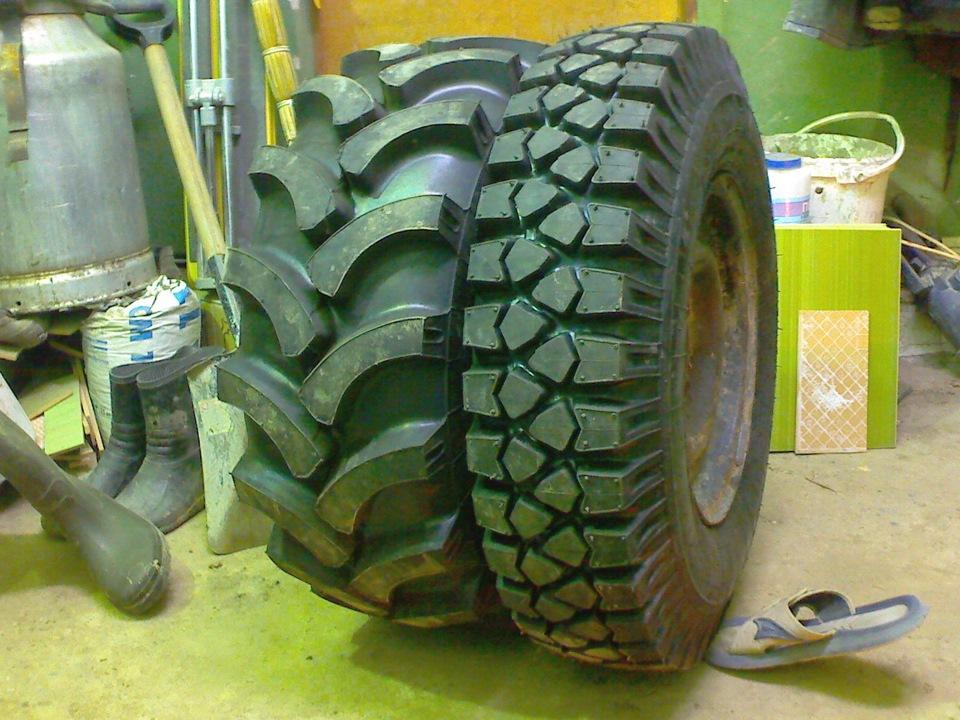 Отечественные шины на уаз