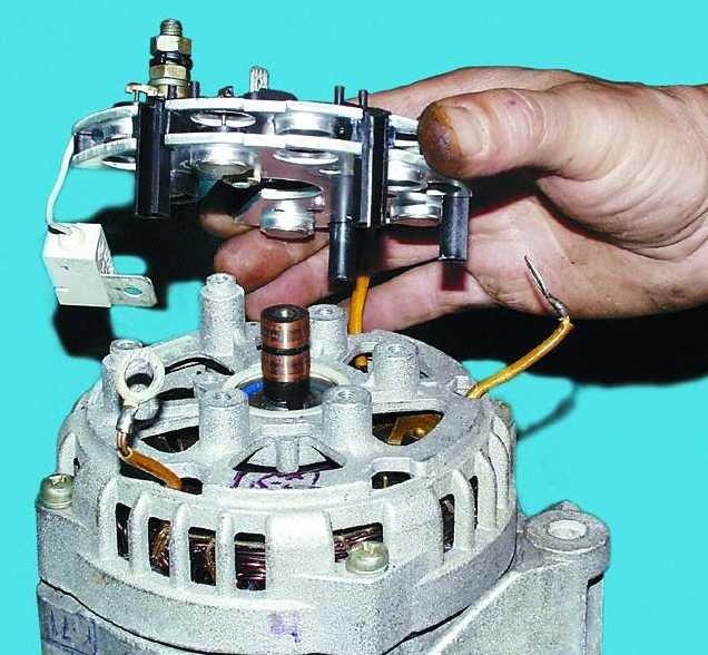 Ремонт генератора ваз 2110 своими руками фото