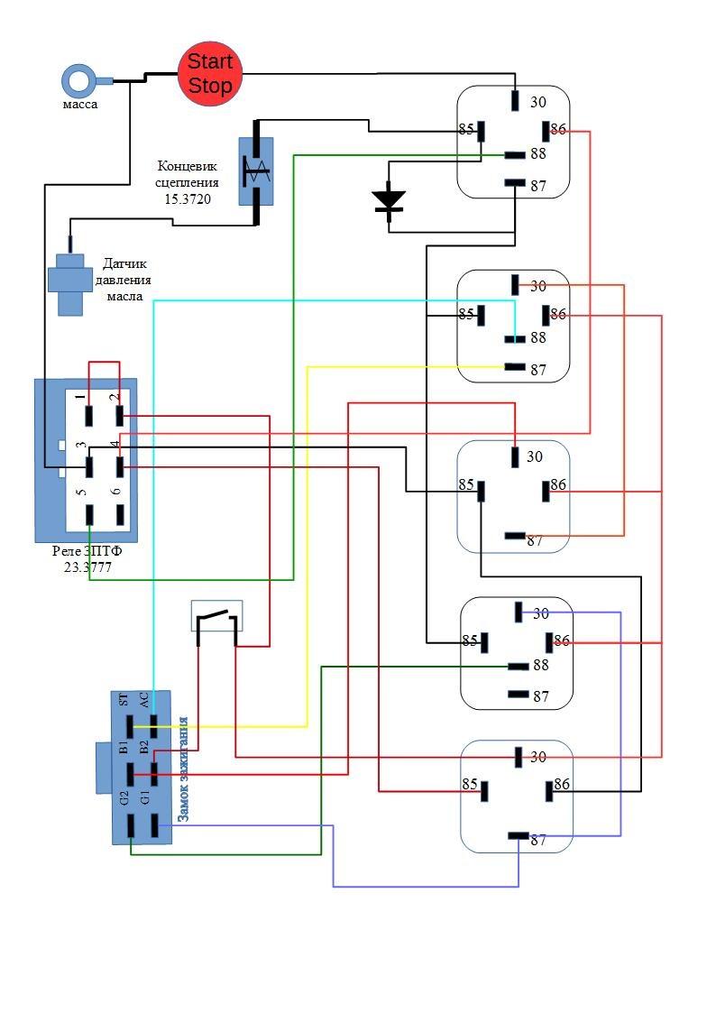 Инжектор на сенс схема