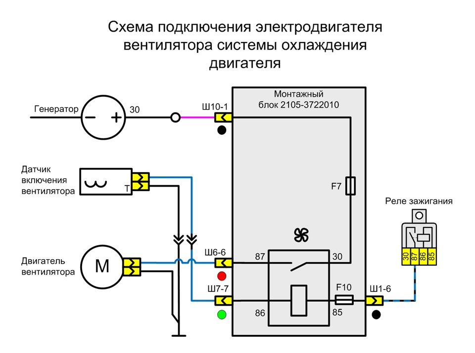 c3dec56s 960 - Схема электровентилятора ваз 2107 инжектор