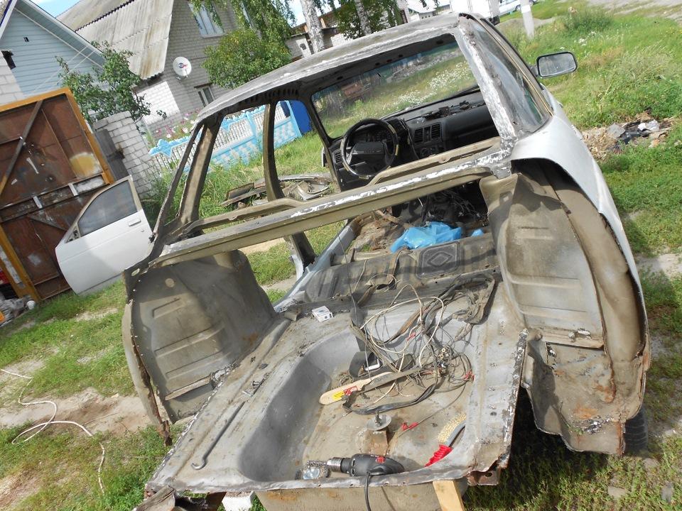 Ваз 2110 ремонт кузова своими руками