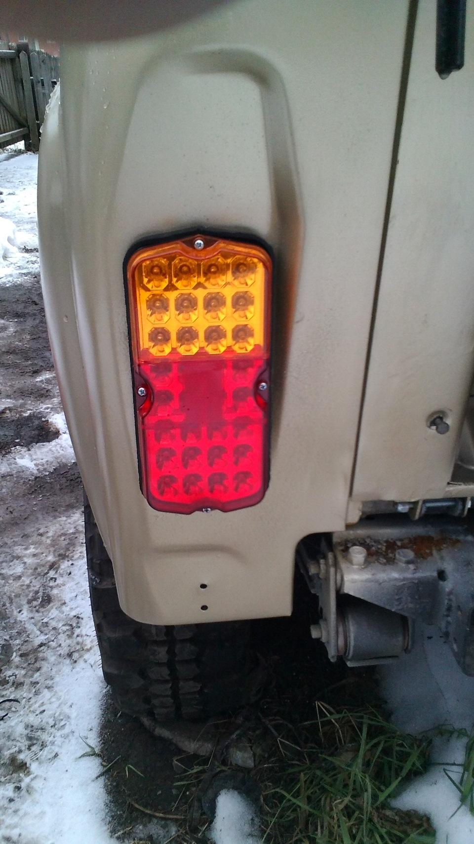 Светодиодный мощный фонарь изготовленный 5