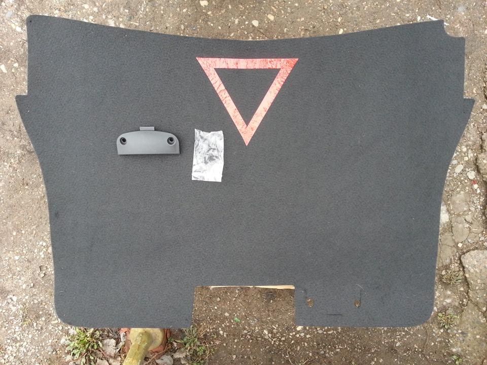 Обшивка крышки багажника гранта своими руками