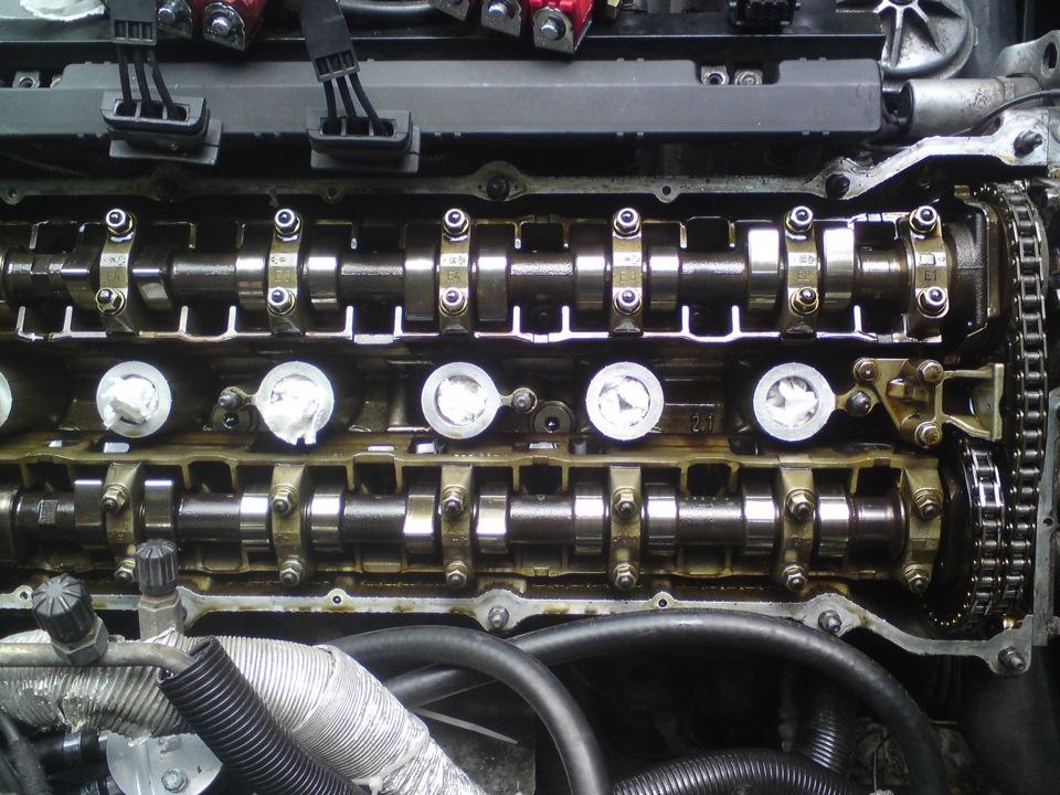 как долить масло в BMW e46