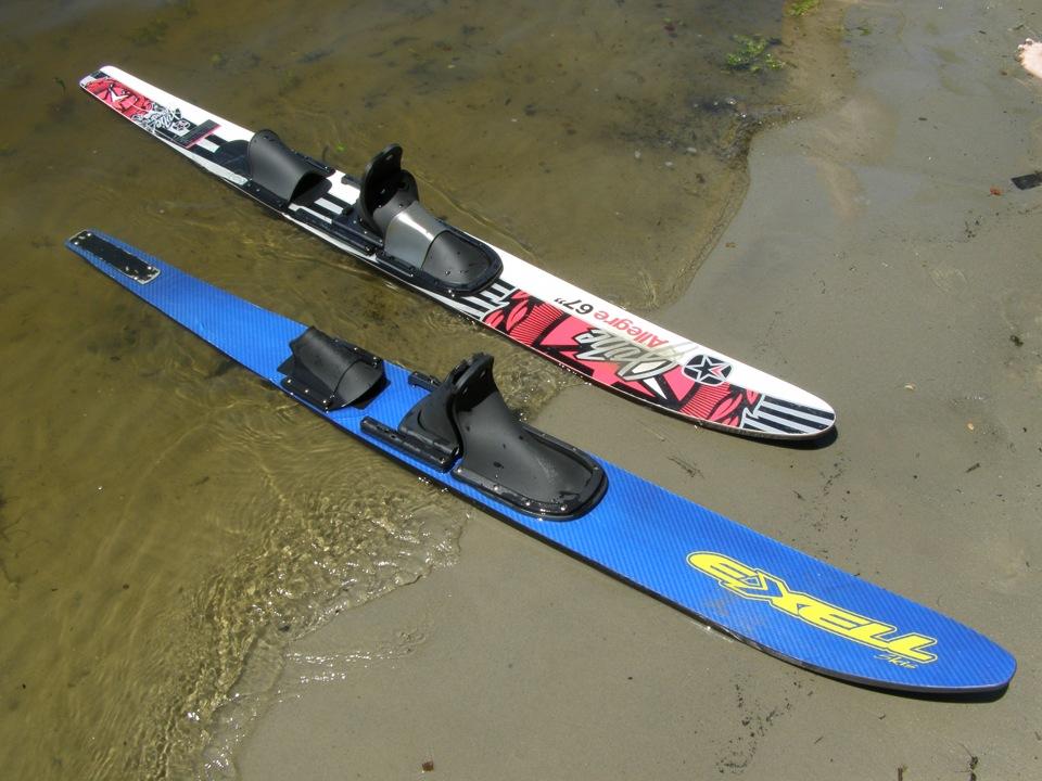 Как сделать водные лыжи