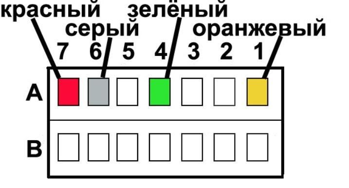 Зелёный провод не подключаем,