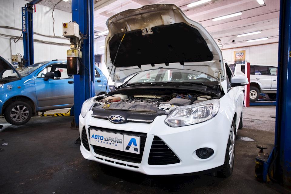 Ford Focus III в ремзоне Техцентра *Авто-Драйв*