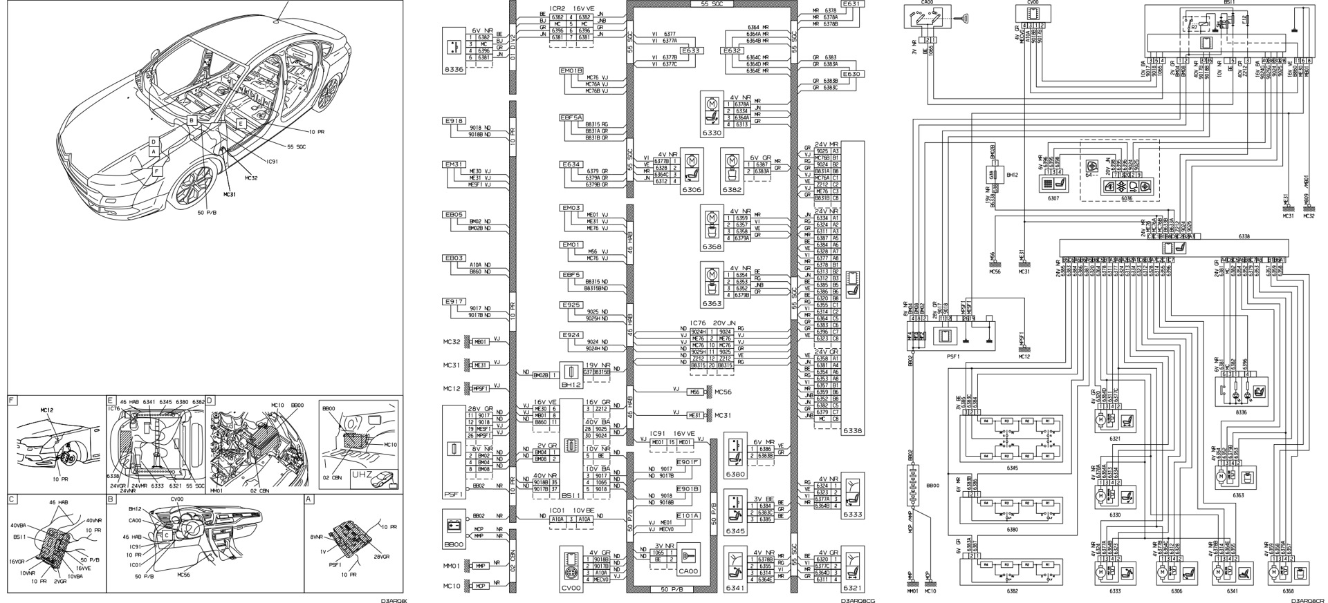 Citroen C5 Electrical Wiring Diagram List Of Schematic Circuit Diagrams Seats Or Chair Stage 2 Logbook Rh Drive2 Com