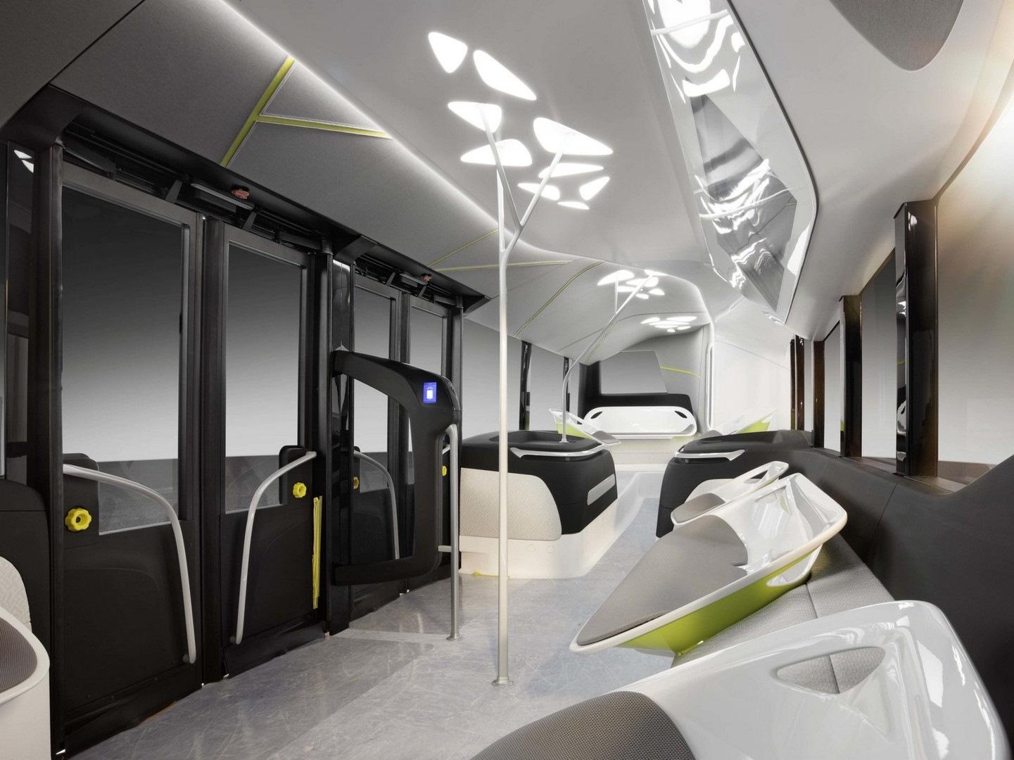 Картинки автобусы будущего