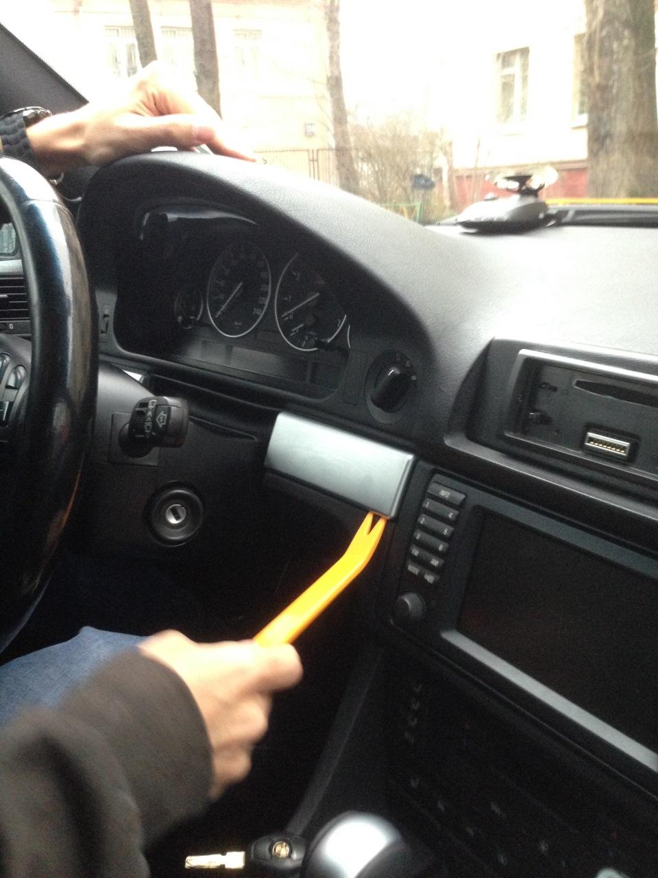 шлейф на панель приборов BMW e39