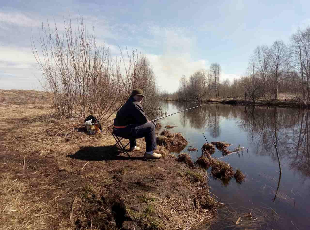 Картинки рыбалка весной