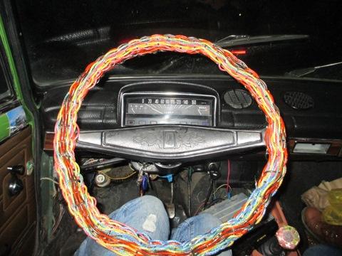 Оригинальные оплетки на руль своими руками 116