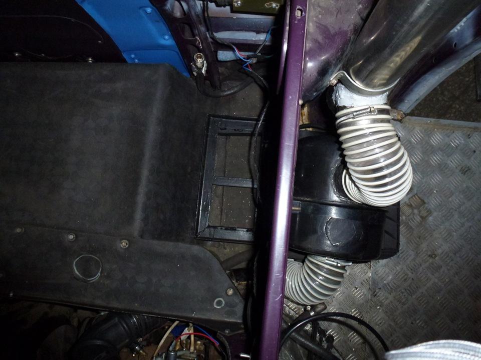 Воздушный фильтр на уаз буханка