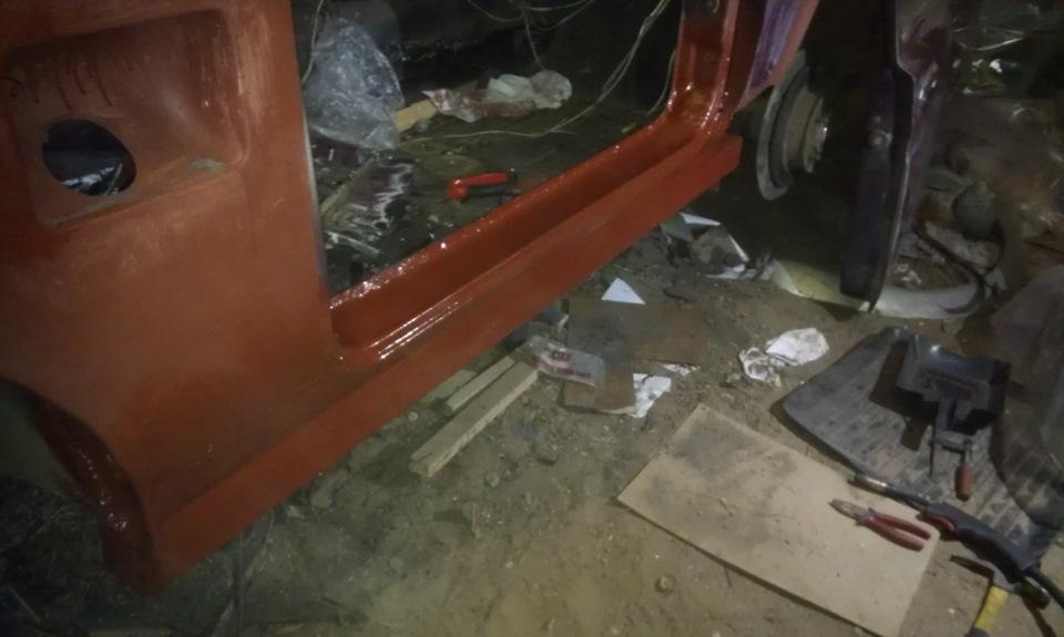 Кузовной ремонт 21213 своими руками 64