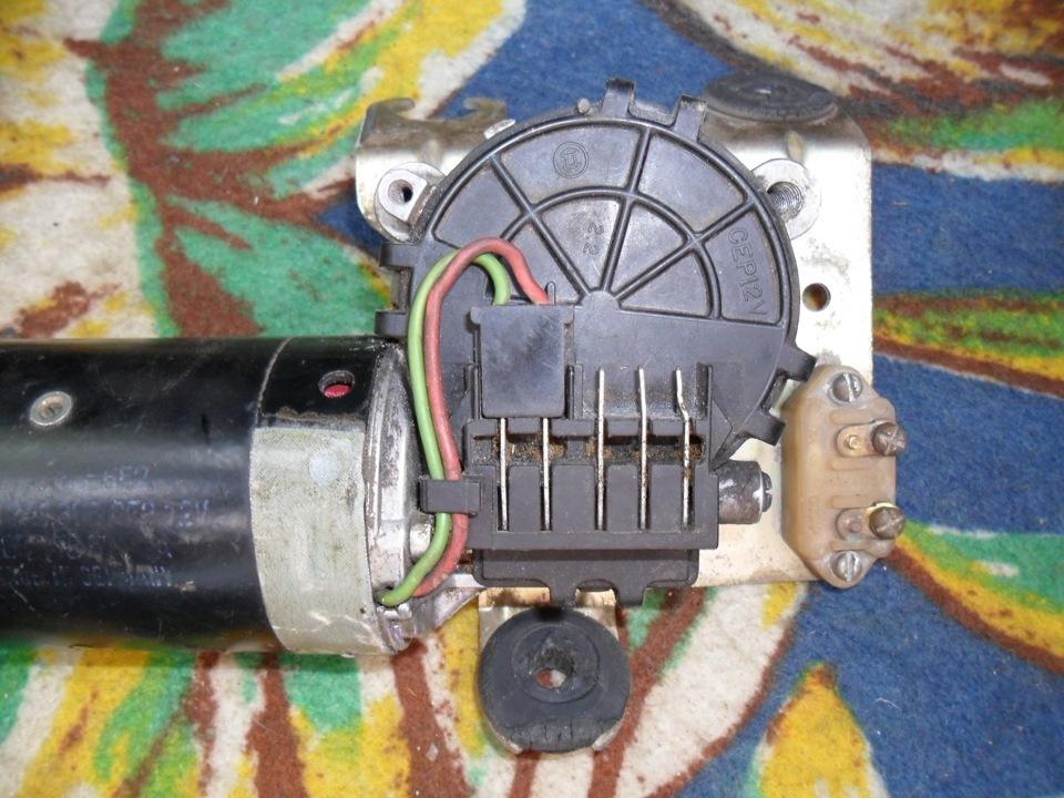 А вот схема перехода с мотора