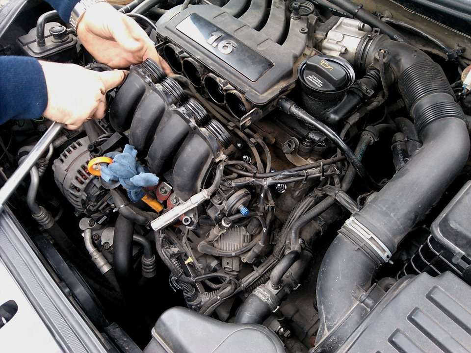 Температура двигателя шкода