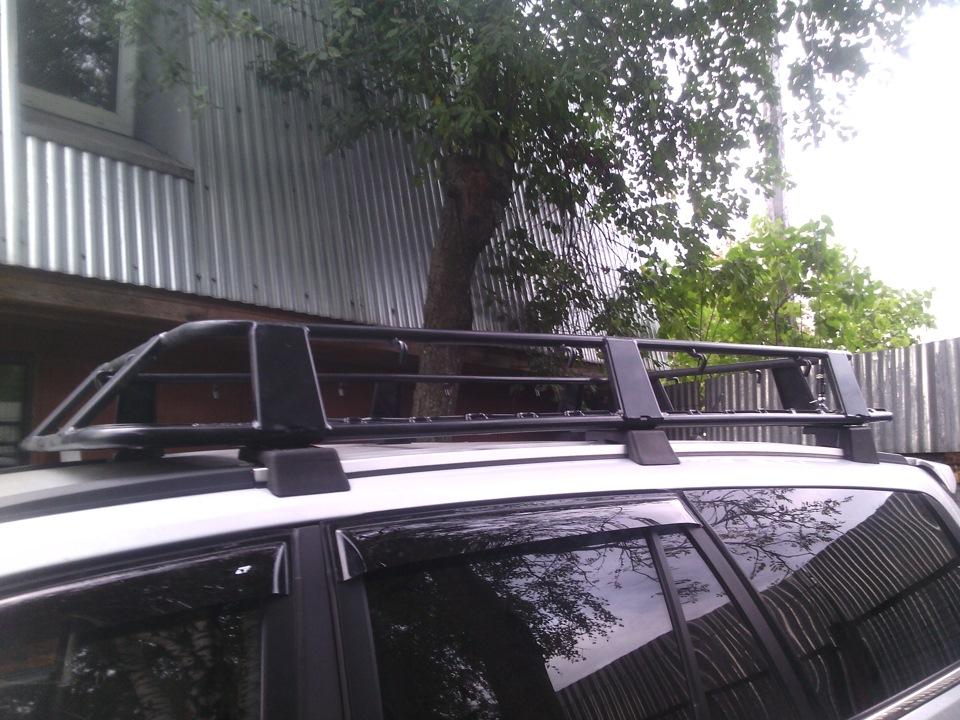 Багажник на крышу ховера своими руками
