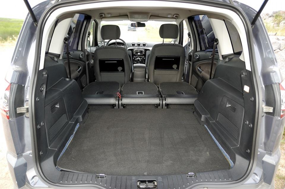 размеры багажника ford s max